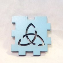 Triquetra Light Blue