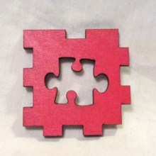 Autism red LED Gift Box