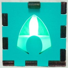 Aquaman LED Gift Box green