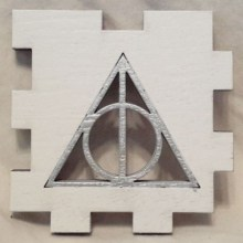 Deathly Hallows face