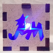 Jem LED Gift Box blue