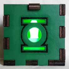 Green Lantern LED Gift Box green