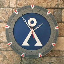 Stargate 14 inch clock