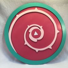 Rose Quartz Shield