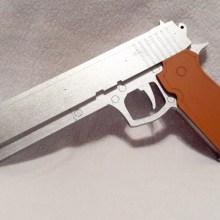 Silver Cosplay Pistol