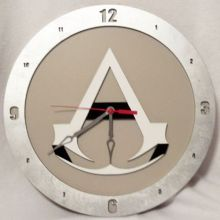 Assassins Creed beige background, 14 inch Build-A-Clock
