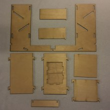 Dice Tower Parts