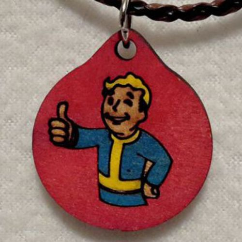 Vault Boy Necklace