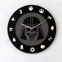 Star Wars Enthusiast 12 disc 14 inch clock