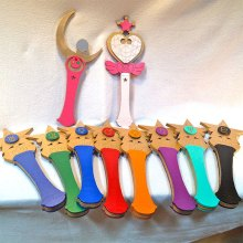 Kids Costume Size Sailor Moon Wand Cosplay Replica Halloween