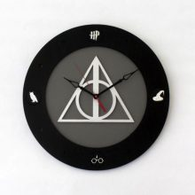 Deathly Hallows Harry Potter 14 inch 4 disc clock