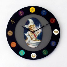 Sailor Moon Disc Clock