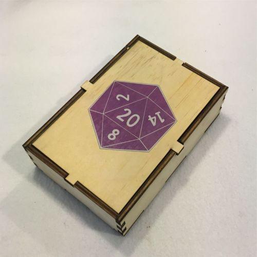 D20 Dice Box