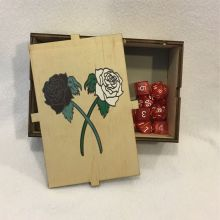 Dice Box Roses Open