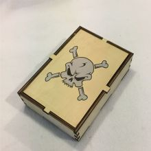 Dice Box Skull & Bones