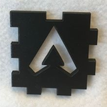 Apex Legends Symbol Wood Tea Light Front