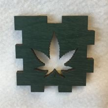 Marijuana Leaf LED Gift Box