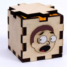 Morty LED Gift Box Yellow