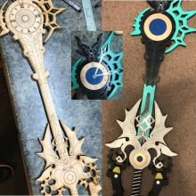 Keyblade Paint Your Own