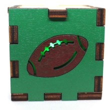 Football LED Box Green