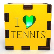 Tennis LED Box Green