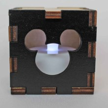 Mickey Mouse LED Box White
