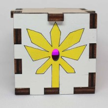 She-Ra S:POP Wood Lit Magenta LED Tea Light