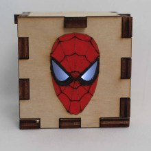 Spiderman LED Box White