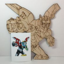 Voltron coloring or painting