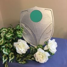 Shield for Wedding Table Displays
