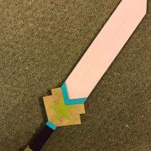 "23"" Connie's Sword Steven Universe Cosplay Replica Costume Prop"