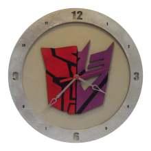 AutoCon Transformer Clock on beige background