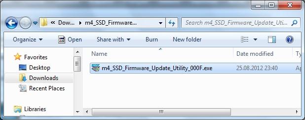 Crucial M4 SSD Firmware Update