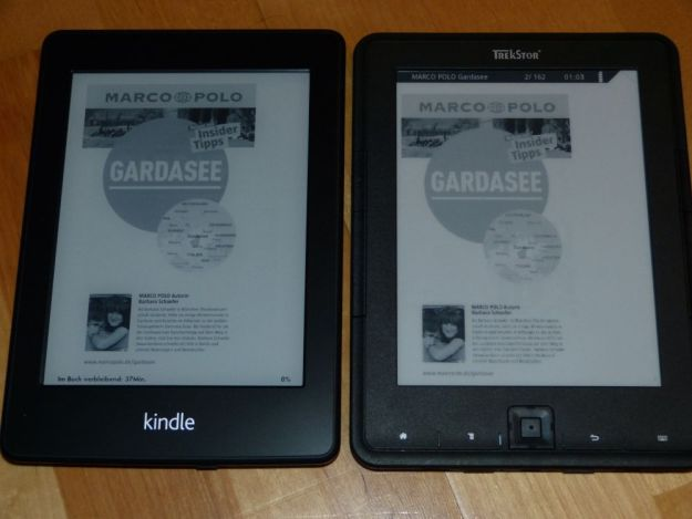 Kindle Paperwhite oder Trekstor Pyrus