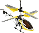 Fun2Get REH46112-1 - RC Hubschrauber Mini Helikopter Falcon-X Metal RTF mit Gyro-Technologie, gelb