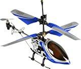 Fun2Get REH46112-1 - RC Hubschrauber Mini Helikopter Falcon-X Metal RTF mit Gyro-Technologie, blau