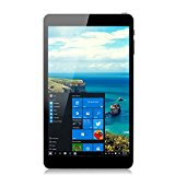 iRULU Walknbook W3Mini Tablet PC, Microsoft Windows 10 OS, Quad Core, 32GB Nand Flash, 8 Zoll mit HD-Auflösung 1280*800, IPS Display, schwarz und weiss