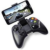 NIUTOP Ipega PG-9023 Bluetooth 3.0 Wireless Controller Gamepad Joystick Fuer Iphone4/4s/5/5s/5c Android 4.0 Smarthone/Handy, Mit 5 Multimediafunktionstasten, Mit Teleskopstaender Kann Unterstuetzen 5-10 Zoll-Geraete (PG-9023 schwarz)