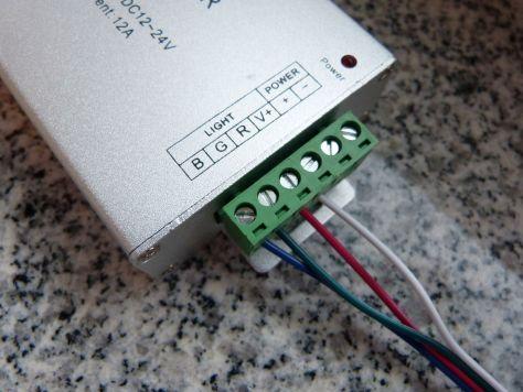 Musiksteuerung LED Streifen LIchtleiste