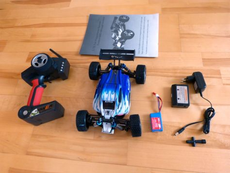 WIToys RC-Buggy RTR 4WD