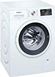 Siemens WM14N121 iQ300 Waschmaschine Frontlader / 7kg / A+++ / 1400 UpM / iSensoric / iQdrive Motor / WaterPerfect / Nachlegefunktion / Spezialprogramm für Sport- und Outdoor-Bekleidung / weiß