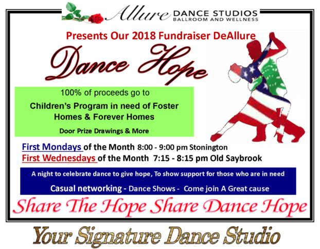 Dance Hope DeAllure Fundraiser CT 2018
