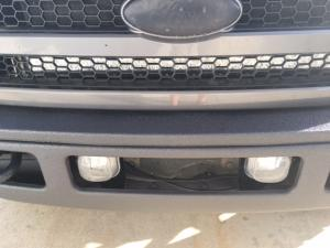 Spray liner bumper and grill