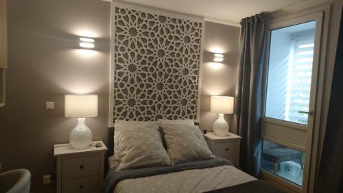 nouvelles tetes de lit bois tendances
