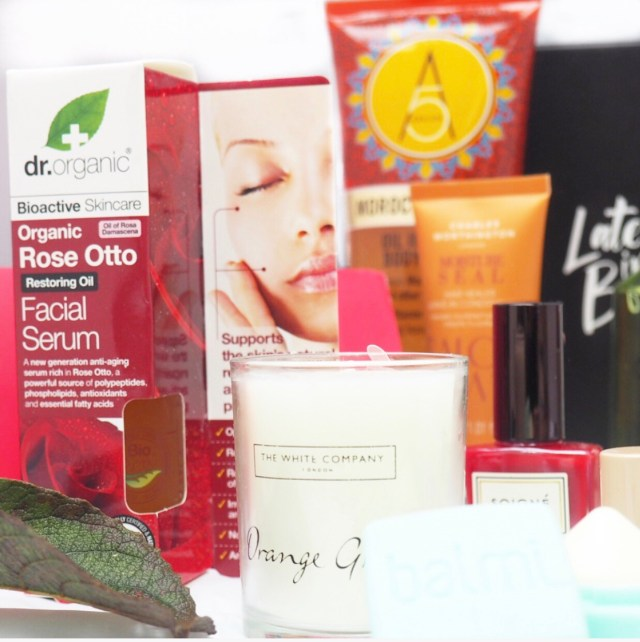 Latest in Beauty Red Beauty Box