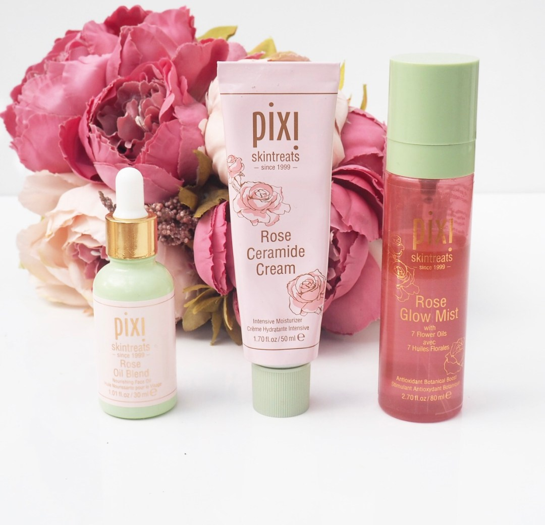 *Pixi Rose Infused Products Review