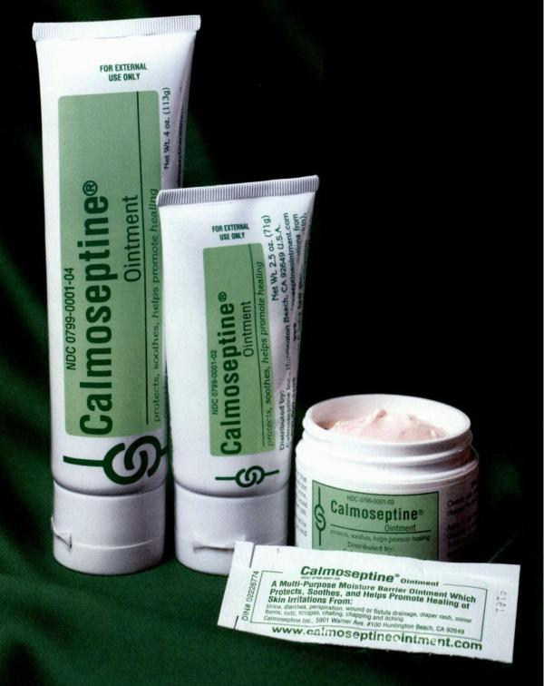 Skin Protectant Ointments by Calmoseptine 1EA - 12/CS