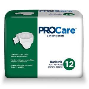 ProCare Adult Briefs XX-Large 12ea/pk 4pk/cs CRB-017