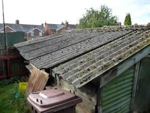 allwastedemolitionimage - asbestos garage roof 5