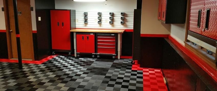 interlocking tiles for garage floors
